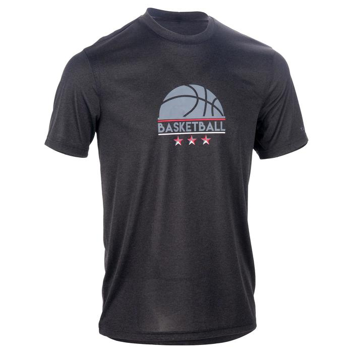 Basketballshirt Fast Herren schwarz