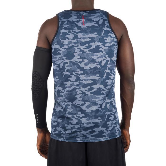 Mens' Intermediate Reversible Basketball Tank Top - White/Blue - 1299039
