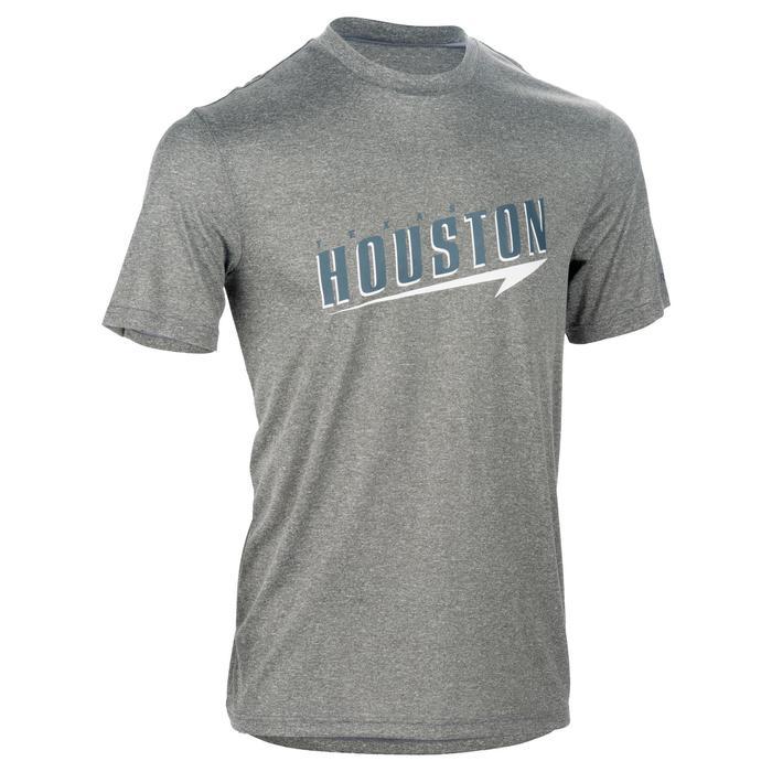 Basketballshirt Fast Houston Herren grau