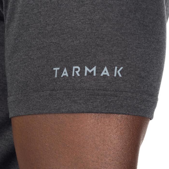 Basketbal T-shirt voor halfgevorderde heren Fast 1/2 bal zwart