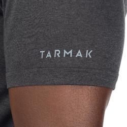 TEE SHIRT DE BASKETBALL HOMME DEBUTANT/ CONFIRME FAST TARMAK 1/2 BALLON NOIR