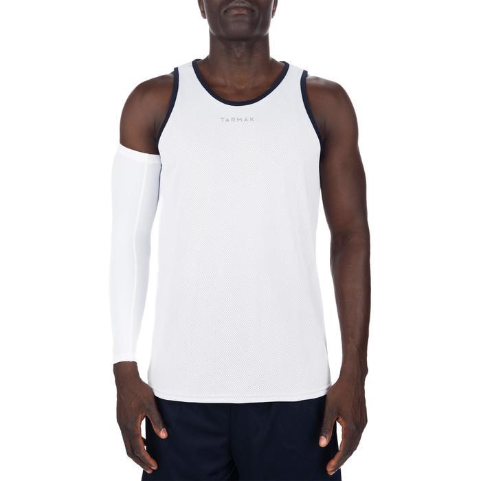 Mens' Intermediate Reversible Basketball Tank Top - White/Blue - 1299051