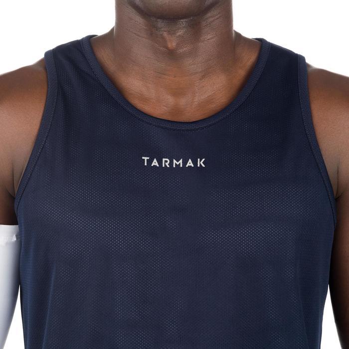 Mens' Intermediate Reversible Basketball Tank Top - White/Blue - 1299055