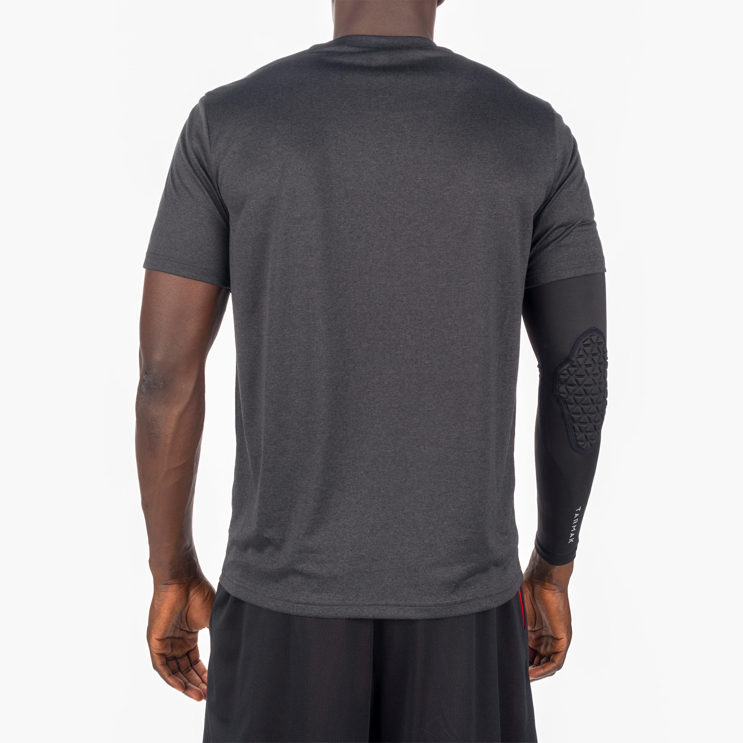 ADULT BASKETBALL T-SHIRT TS FAST CLEVELAND BLACK