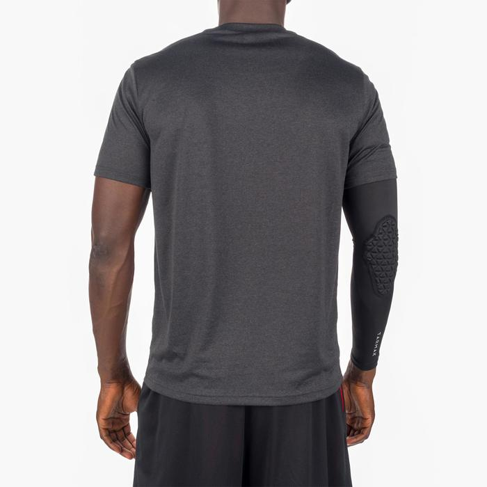 Basketbal T-shirt voor halfgevorderde heren Fast Cleveland zwart