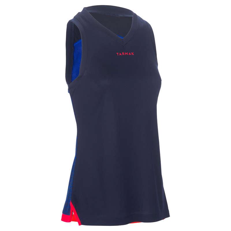 WOMAN BASKETBALL OUTFIT - T500 Women's Tank Top - Blue TARMAK