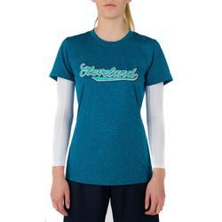 Basketballshirt Fast Cleveland Damen Fortgeschrittene blau