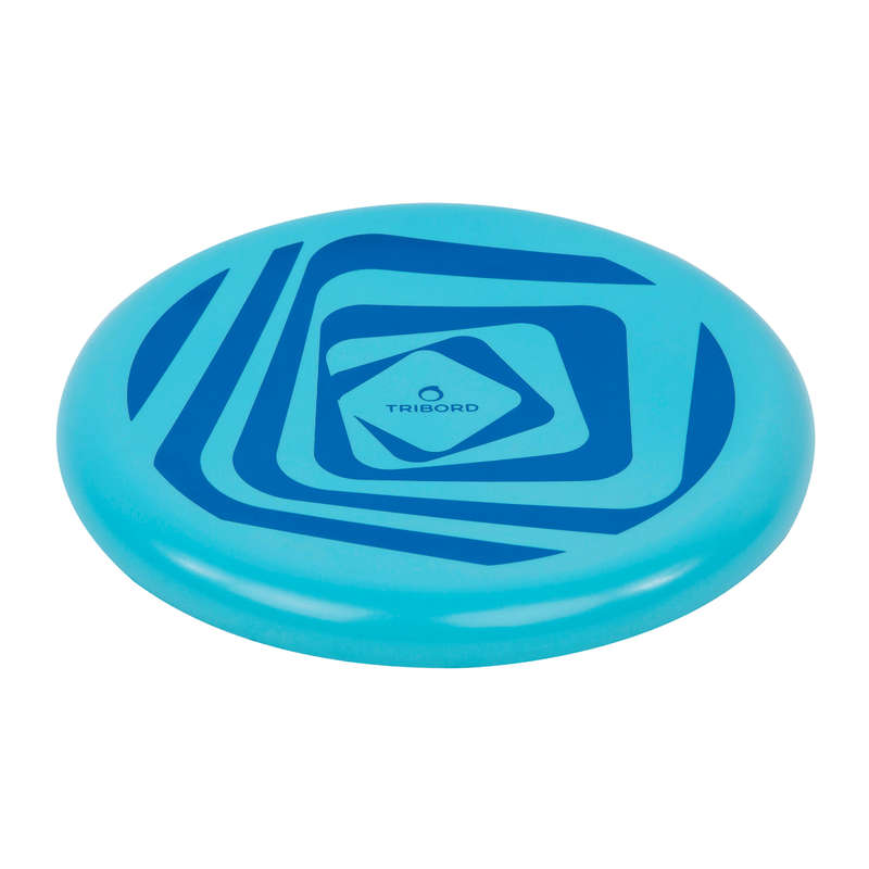 FLYING DISCS / BOOMERANG Frisbees and Boomerangs - DSoft Frisbee - Loop Blue OLAIAN - Sports