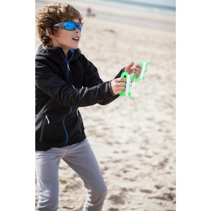 Cometas acrobáticas Playa Orao IZYPILOT 100 Verde/Azul 2 en 1 Evolutiva
