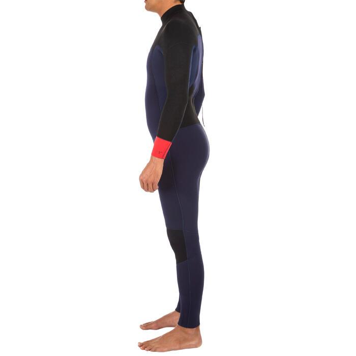Combinaison SURF 500 Néoprène 4/3 mm homme Bleu marine - 1299579