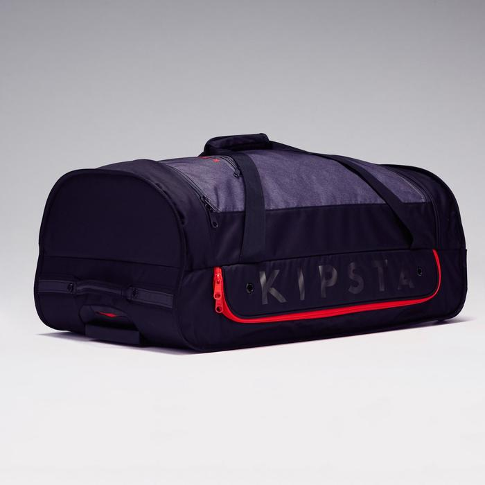 Classic 70L Roller Team Sports Bag - Grey/Red - 1299596