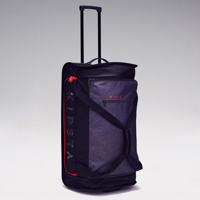 Classic 70L Roller Team Sports Bag - Grey/Red - 1299597