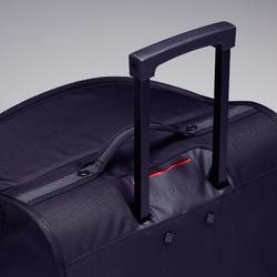 Sac à roulettes trolley Essentiel 70 litres gris et rouge