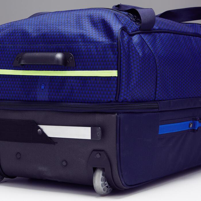 Trolley sporttas Classic 100 liter blauw/groen - 1299600