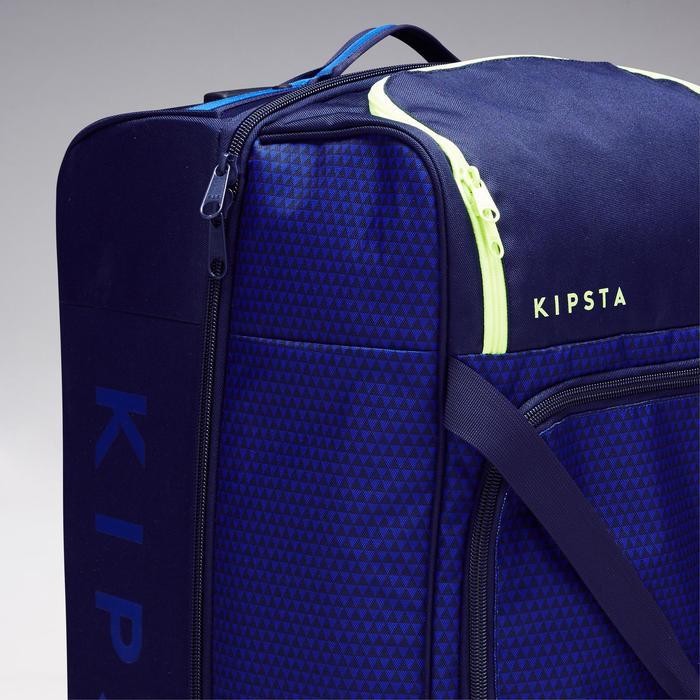 Trolley sporttas Classic 100 liter blauw/groen - 1299606