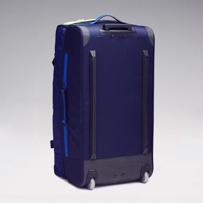 Trolley sporttas Classic 100 liter blauw/groen - 1299607