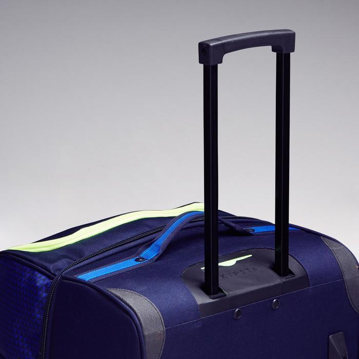 Trolley sporttas Classic 100 liter blauw/groen - 1299611