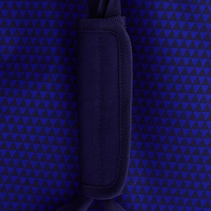 Trolley sporttas Classic 100 liter blauw/groen - 1299613