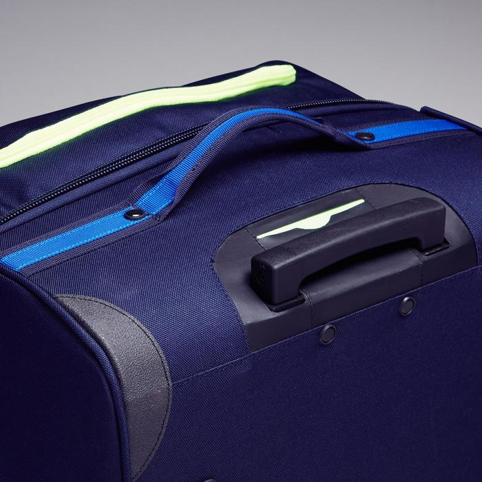 Trolley sporttas Classic 100 liter blauw/groen - 1299615