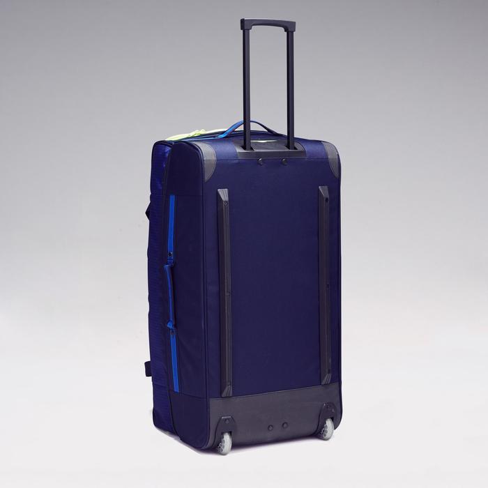 Trolley sporttas Classic 100 liter blauw/groen - 1299616