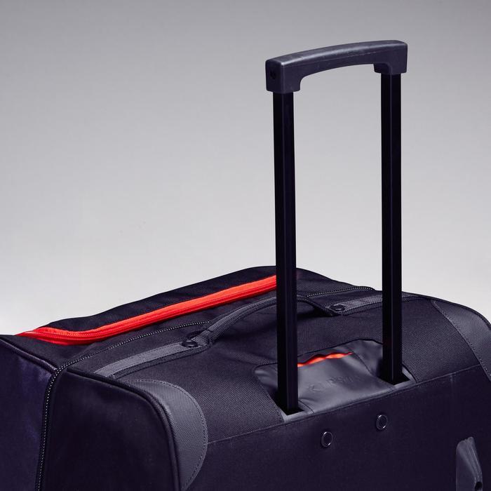 Trolley Sporttas Classic 100 liter grijs/rood - 1299624