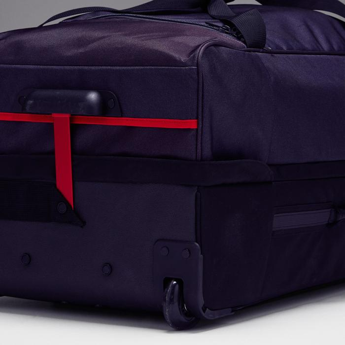 Trolley Sporttas Classic 100 liter grijs/rood - 1299630