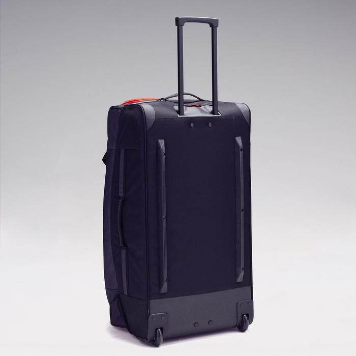 Sporttasche Trolley Classic 105L grau/rot