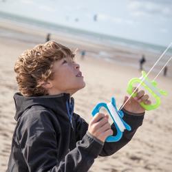 Cometas acrobáticas Playa Orao Para Niños IZYPILOT 160 Amarilla/Azul