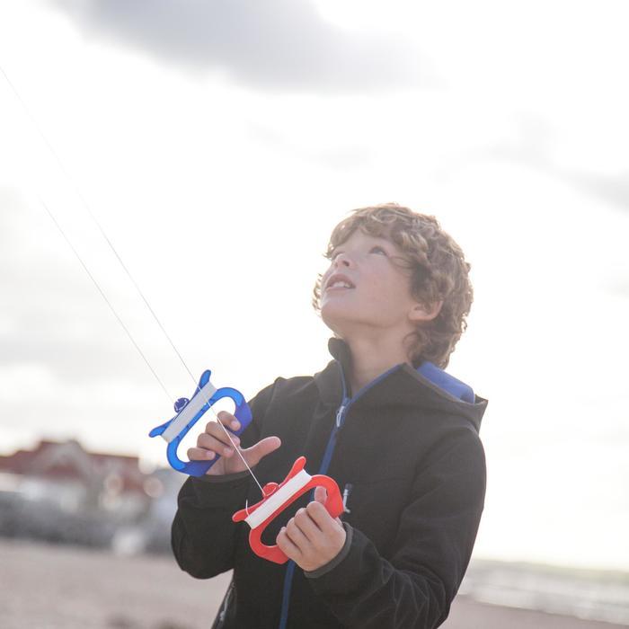 """CERF- VOLANT PILOTABLE """"3D PLANE170"""" pour enfants - coloris Voltige - 1299731"""