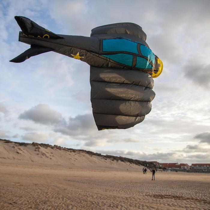 """CERF- VOLANT PILOTABLE """"3D PLANE 180"""" pour enfants - coloris Aventure"""