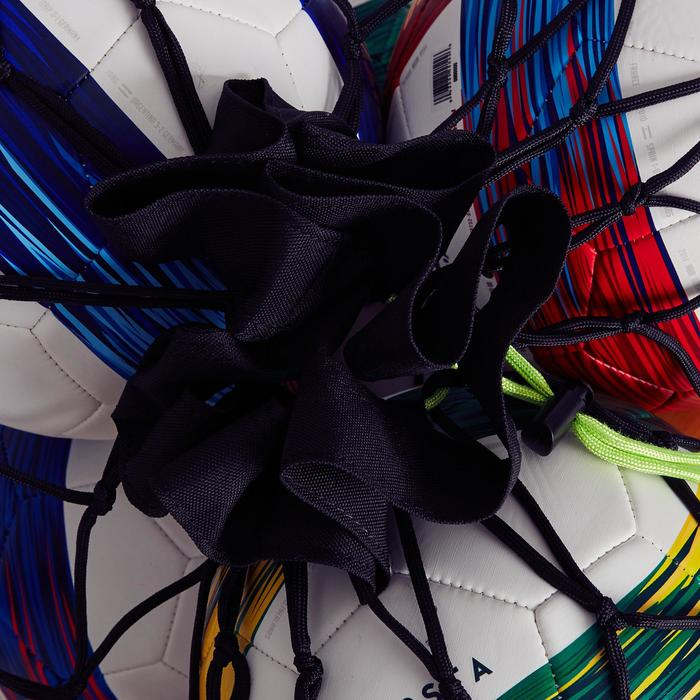 Ballennet voor 10 tot 14 ballen zwart geel