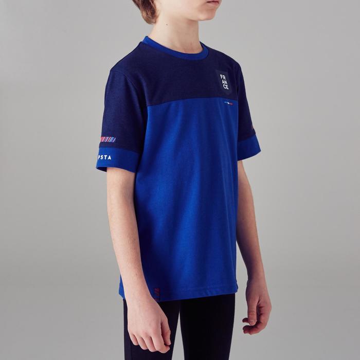 Camiseta de fútbol para niño FF100 Francia azul