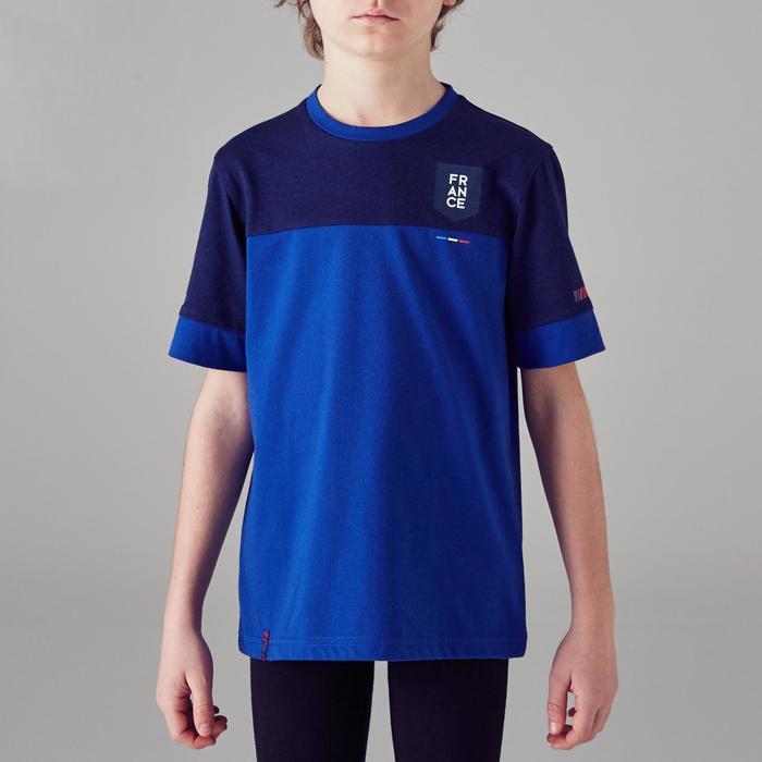 T-shirt de football enfant FF100 France - 1299802