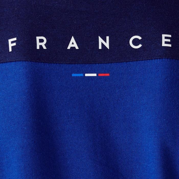 Fußballshirt FF100 Frankreich Kinder blau