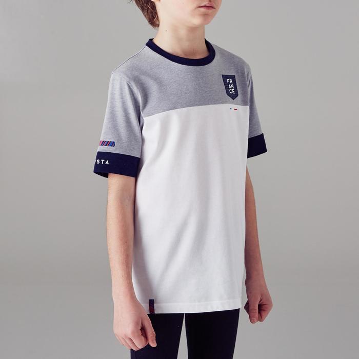 T-shirt de football enfant FF100 France - 1299823