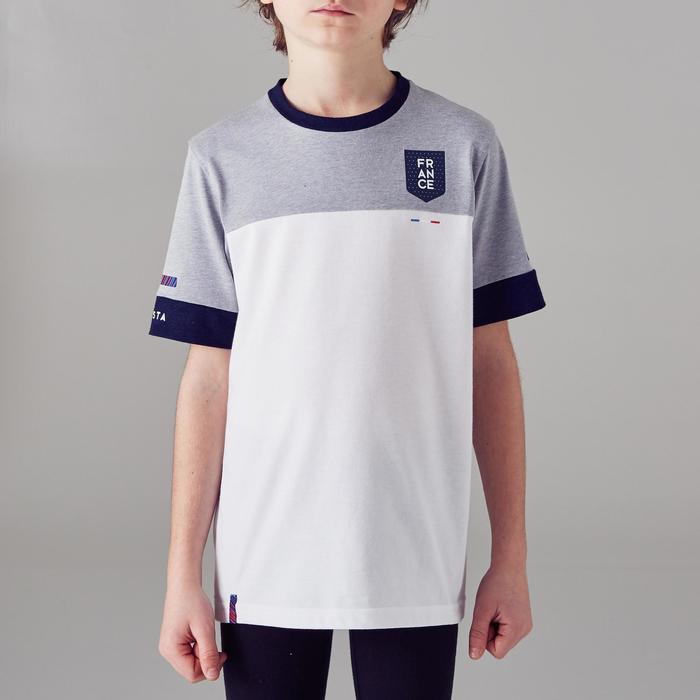 T-shirt de football enfant FF100 France - 1299824