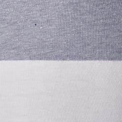 T-shirt de football enfant FF100 France blanc gris chiné