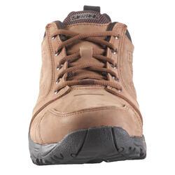 Leren herenschoenen sportief wandelen Nakuru Comfort bruin