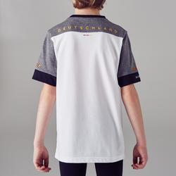 T-shirt de football enfant FF100 Allemagne blanc