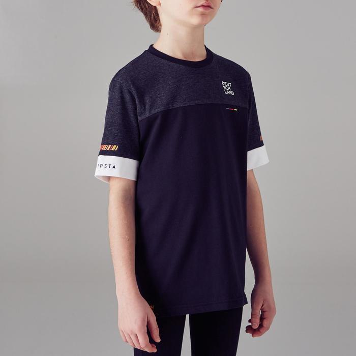 Voetbalshirt Duitsland FF100 voor kinderen zwart