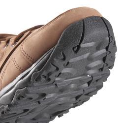 Herenschoenen voor sportief wandelen Nakuru Comfort leer bruin