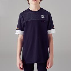 T-shirt de football enfant FF100 Allemagne noir