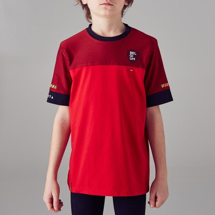 Fußballshirt FF100 Belgien Kinder rot