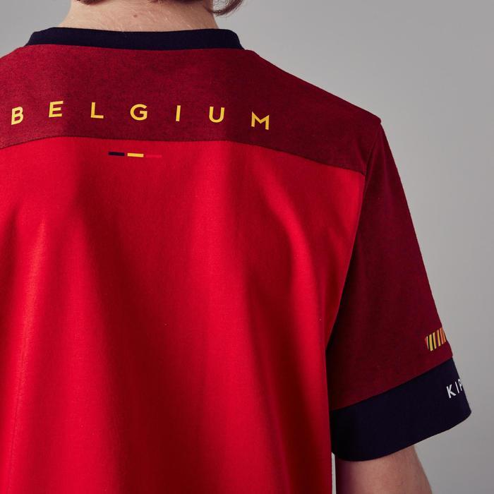 T-shirt de football enfant FF100 Belgique rouge