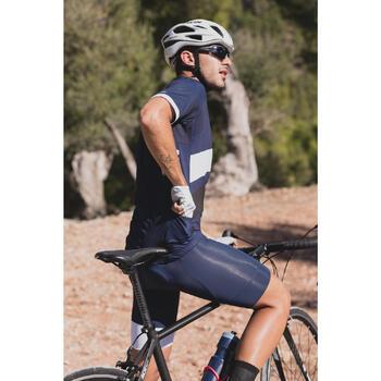 CULOTTE CICLISMO CARRETERA HOMBRE ROADCYCLING 500 AZUL MARINO