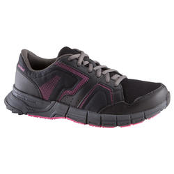 Damessneakers Propulse Walk zwart/roze - 130014