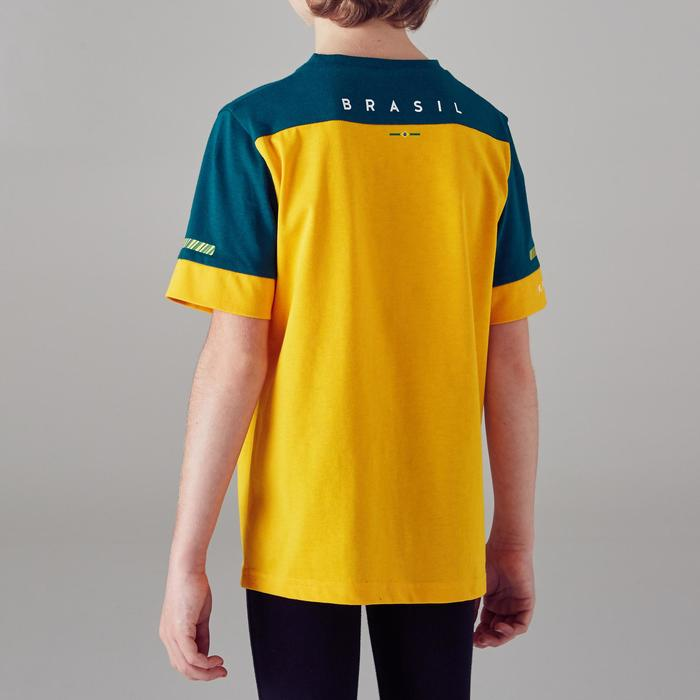 T-shirt de football enfant FF100 Brésil - 1300143
