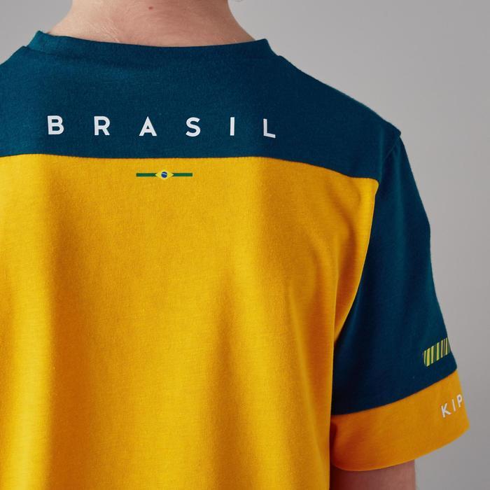 T-shirt de football enfant FF100 Brésil - 1300144