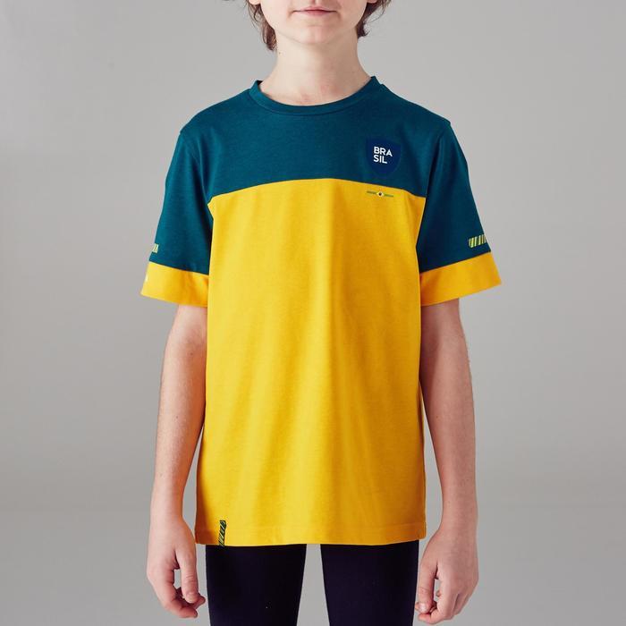 T-shirt de football enfant FF100 Brésil - 1300150