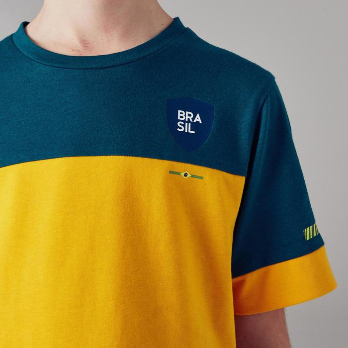 b802ce43e Kipsta T-shirt de football enfant FF100 Brésil